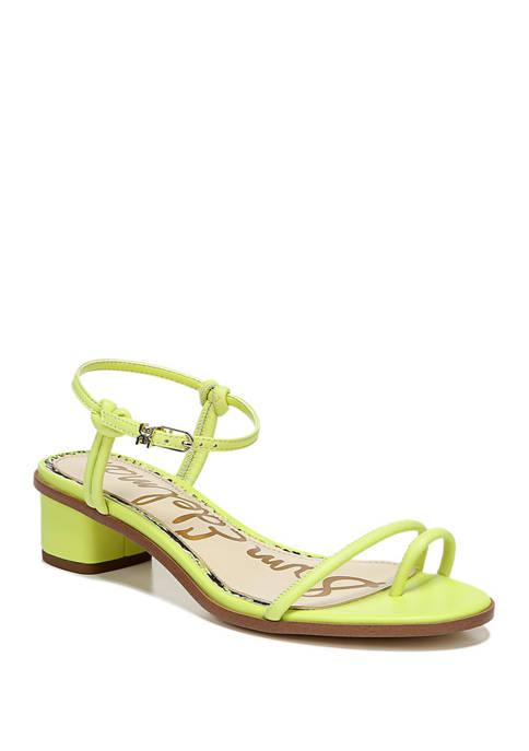 Isle Block Heel Sandals