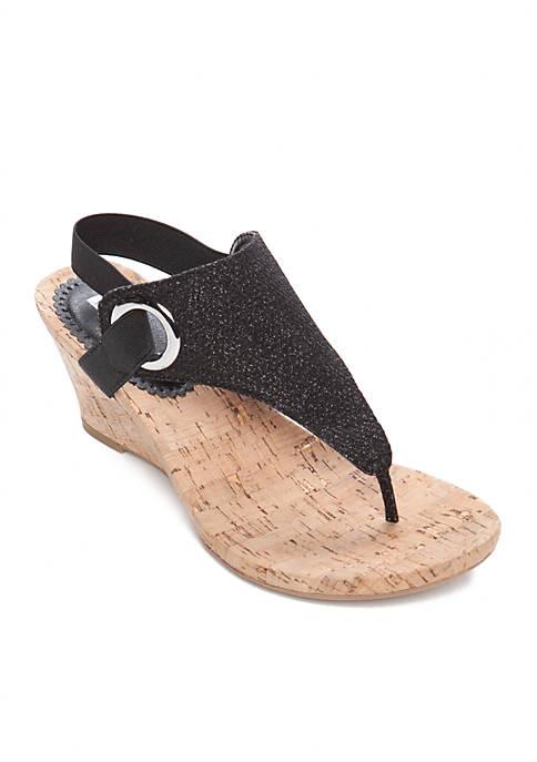 Aida Wedge Sandals