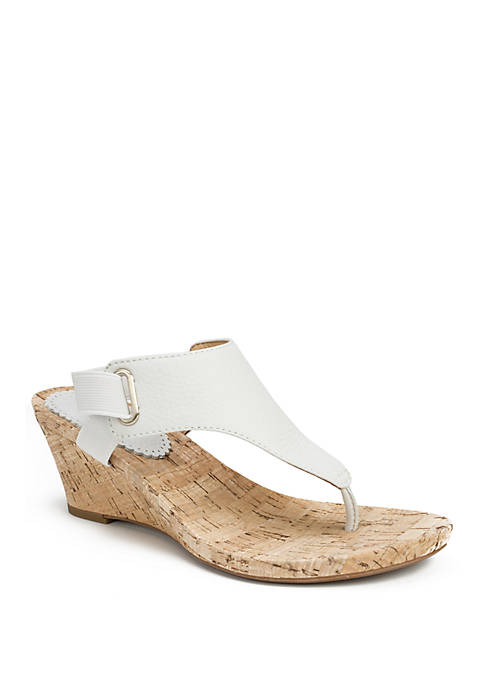 All Glad Elastic Strap Sandals
