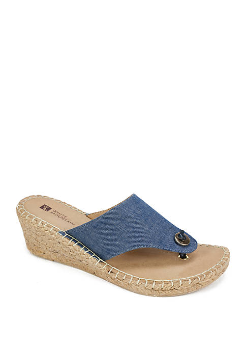 Beachball Espadrille Sandals