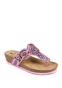 Blast Embellished Sandal