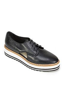 Brody Italian Leather Oxford with Laces
