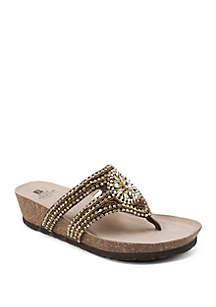 Busy Embellished Sandal