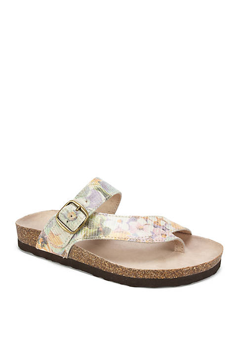 White Mountain Carly Sandals Belk