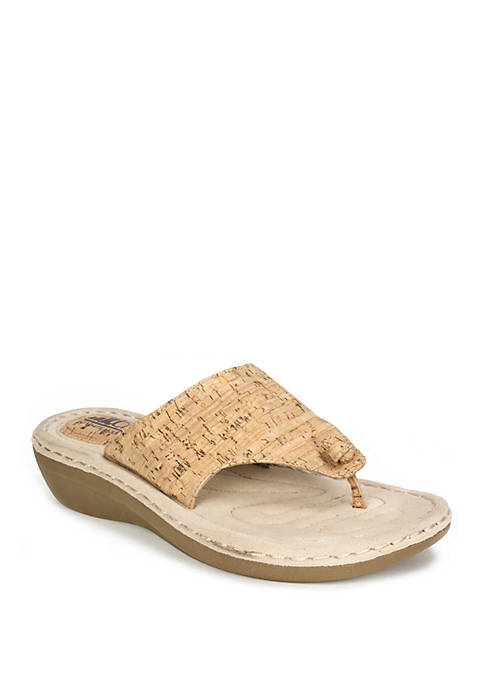 Cliffs by White Mountain Chloe Wedge Sandals