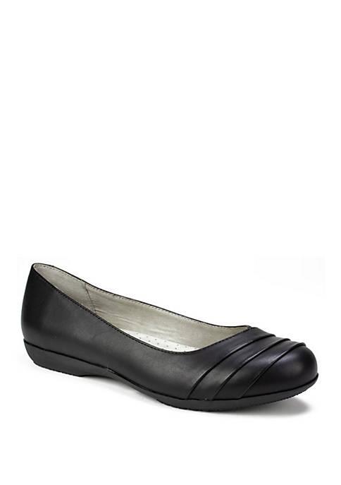 Womens Clara Wide Ballet Shoes