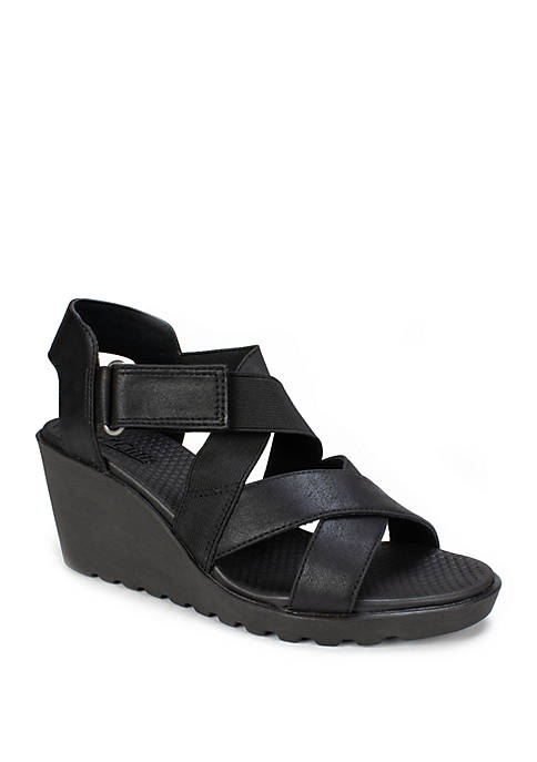 Cliffs by White Mountain Esther Adjustable Strap Sandals