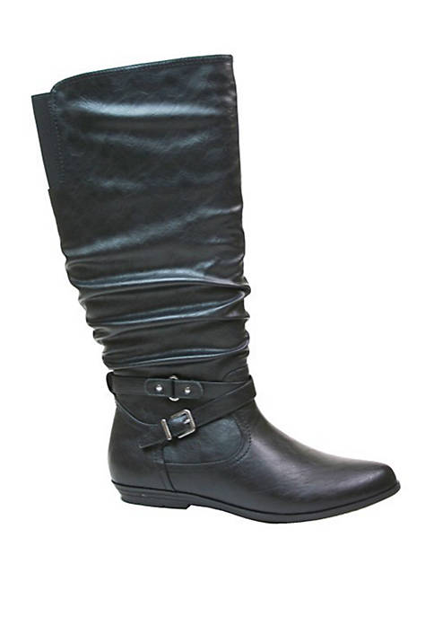 Franka Wide Calf Tall Shaft Boots