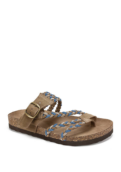 Helena Braided Sandals