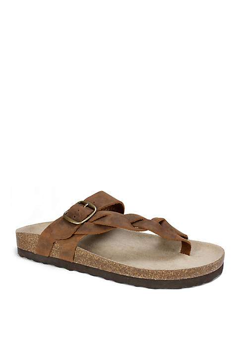 Honor Braided Footbed Sandal