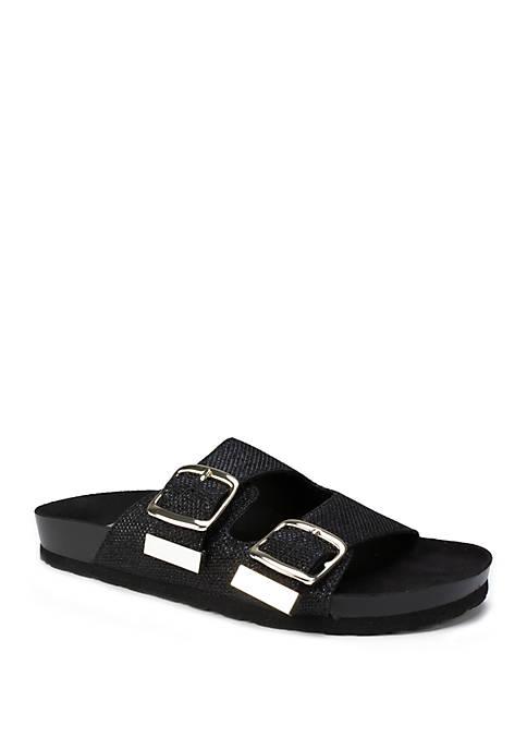 Horizon Glitter Sandals