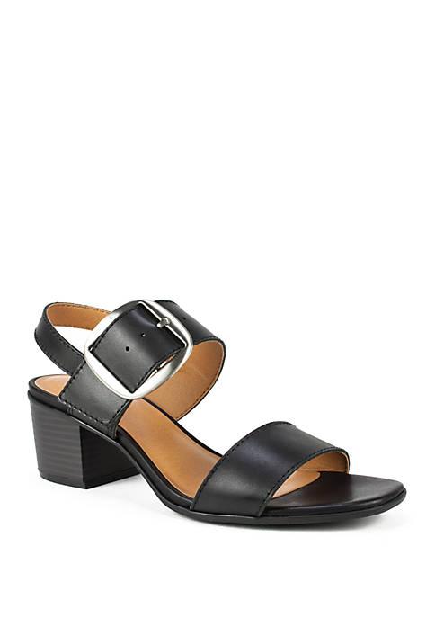 Lamar Double Strap Sandals