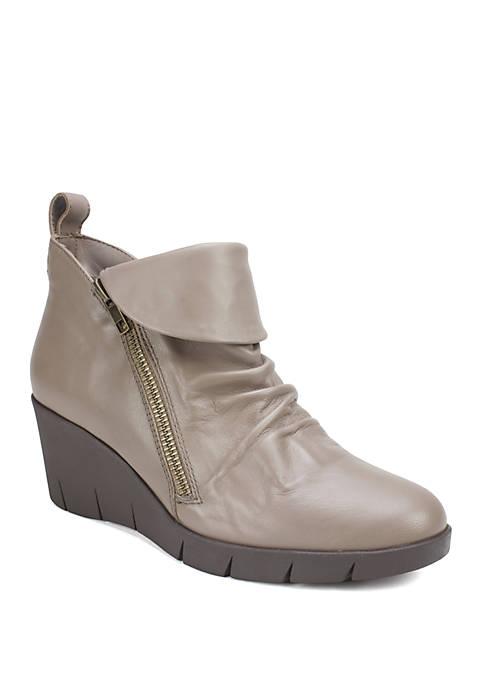 Penwood Leather Wedge Dress Booties
