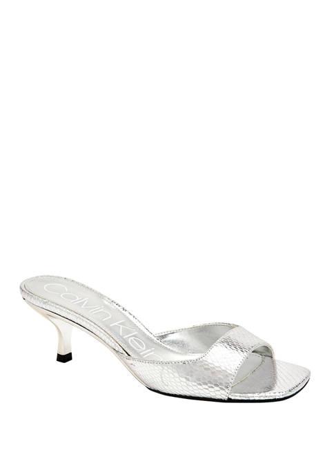 Mega Metallic Heels