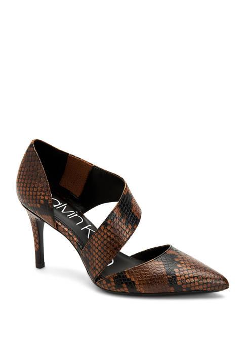 Gella Mamba Snake Heels