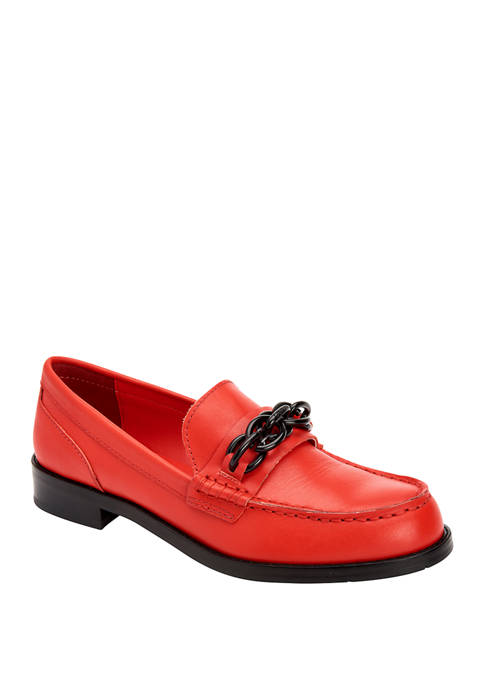 Calvin Klein Sirah Cow Silk Loafers