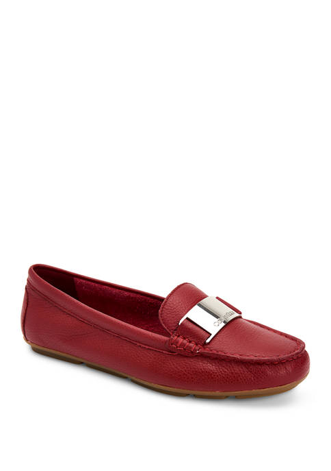 Calvin Klein Lisette Tumbled Pascal Loafers