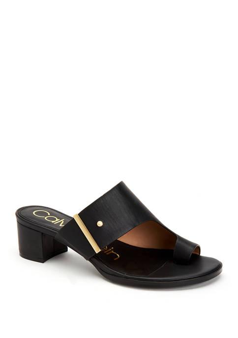 Calvin Klein Daria Nappa Heels