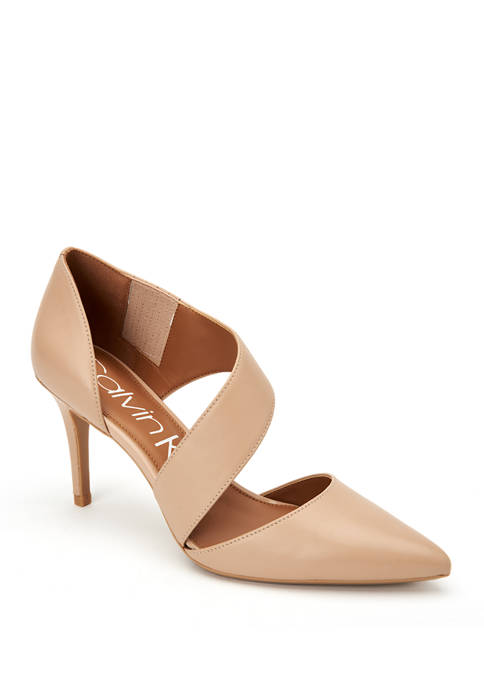 Calvin Klein Gella Nappa Heels