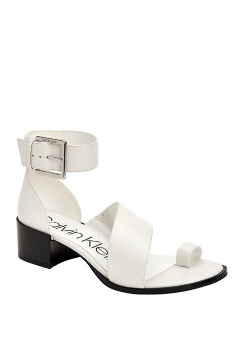 Calvin Klein Pepa Margaret Heel Sandals