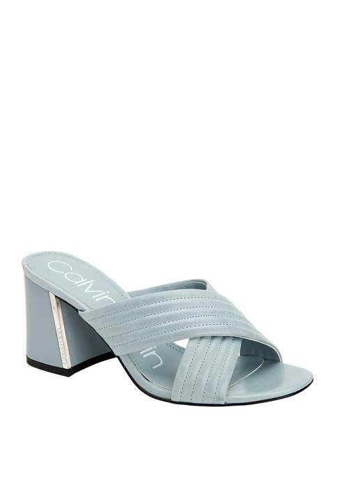 Calvin Klein Roena Siriana Heel Sandals