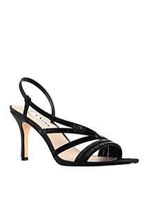 Amani Asymmetrical Heels
