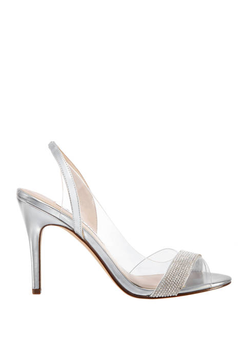 Cailida Lucite Slingback Heels