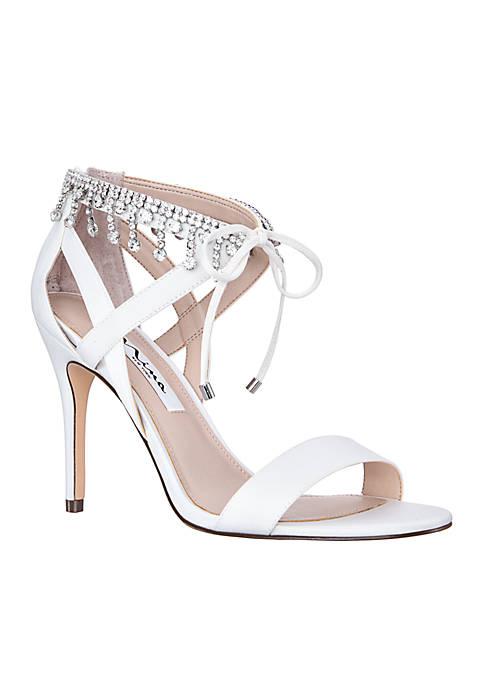 Nina Collina Jeweled Sandal