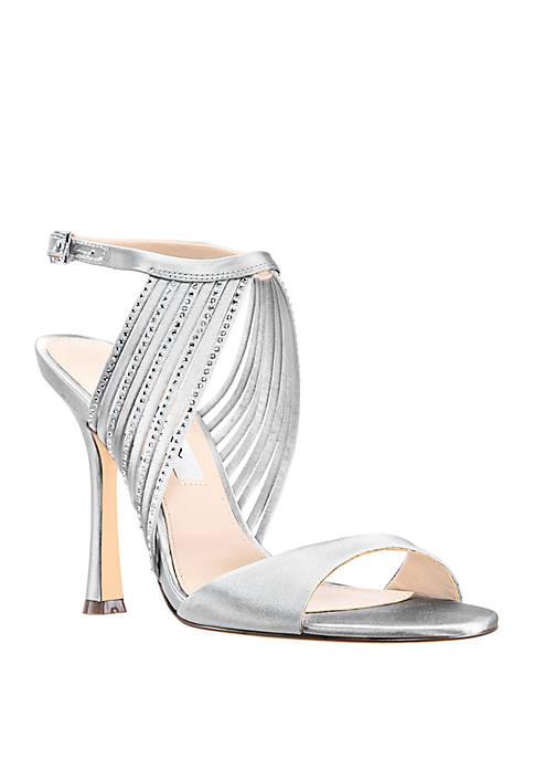 7bfedd0d9e75 Nina Damaris High Heel Strappy Sandal