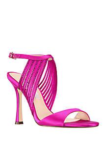 Damaris High Heel Strappy Sandal