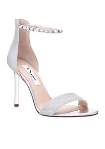 Deena Ankle Strap Heel