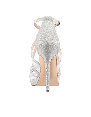 c1bbff7025af ... Nina Fenna Glitter Platform Sandals ...