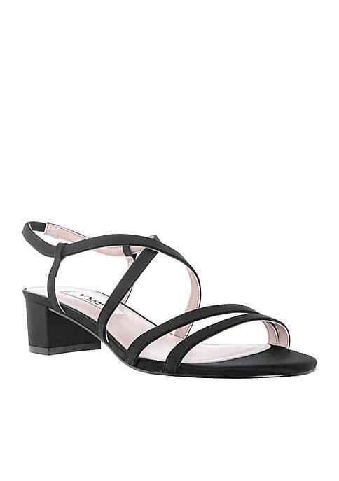 15b56ce2a4a5 Nina Gaelen Strappy Low Block Heel | belk