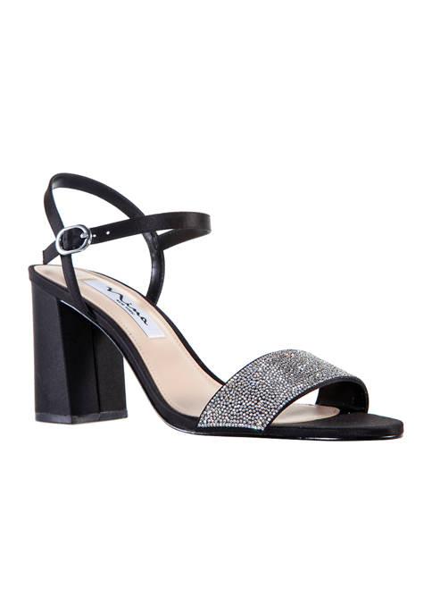 Nina Haven Block Heel Sandals