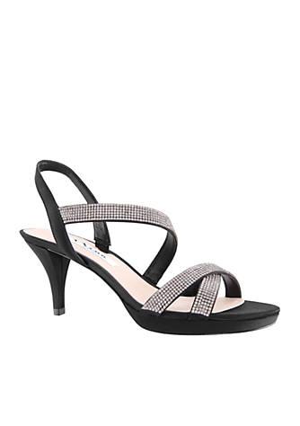 Nina Nizana Satin Strappy Sandals XDDZpXL
