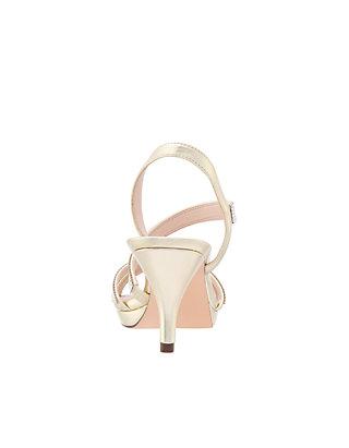 681f9383a7a4 ... Nina Nizana Satin Strappy Sandals ...