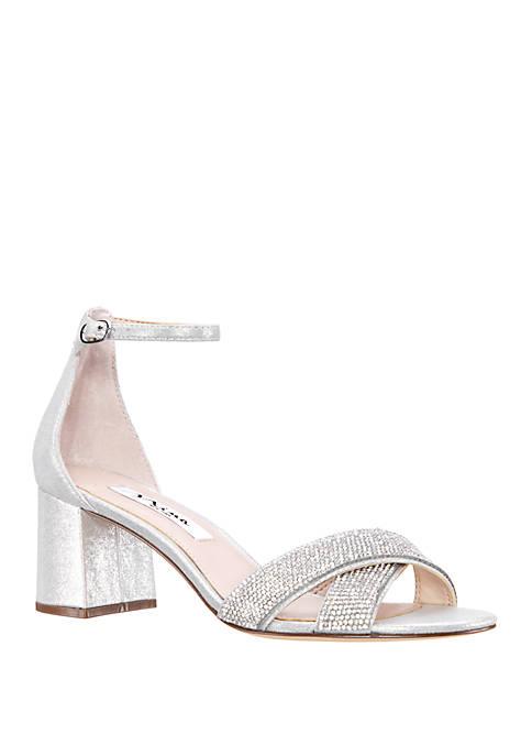 Womens Nolita Block Heel Sandals