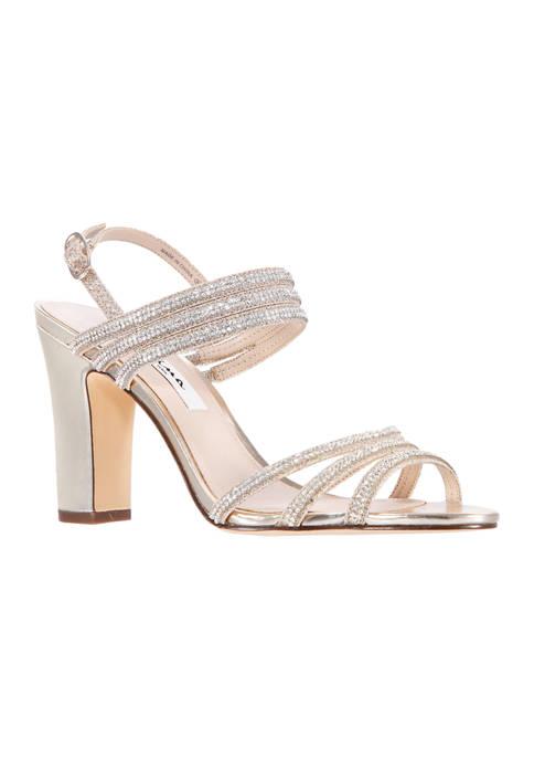 Sandra Block Heel Sandals