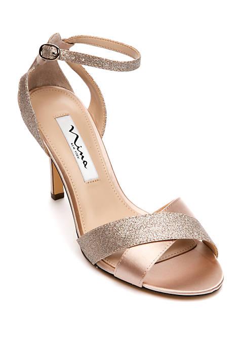 Nina Venus X Band Ankle Strap Sandals