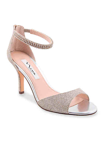 Nina Tonya 2 Suede Pointed Toe Heels h7PZhqq