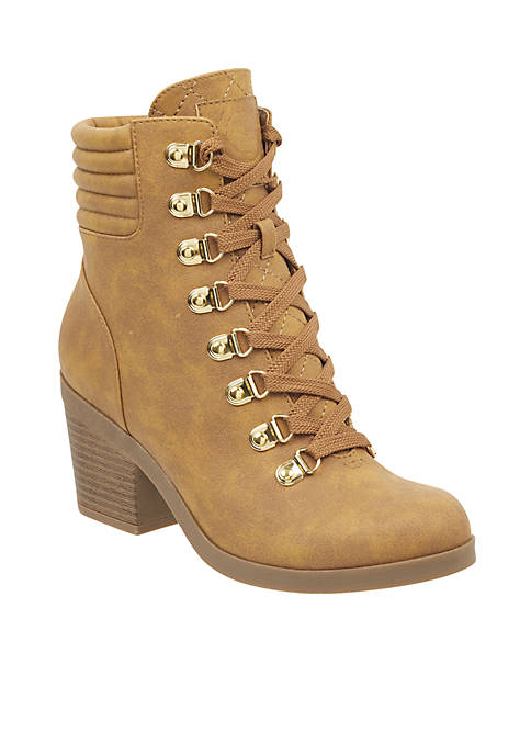 G by GUESS Amend Heeled Hiker Bootie