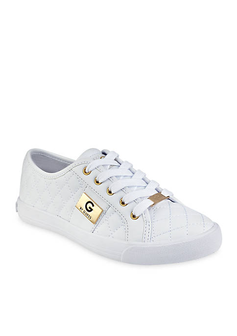 Backer Lace-Up Quilted Sneaker
