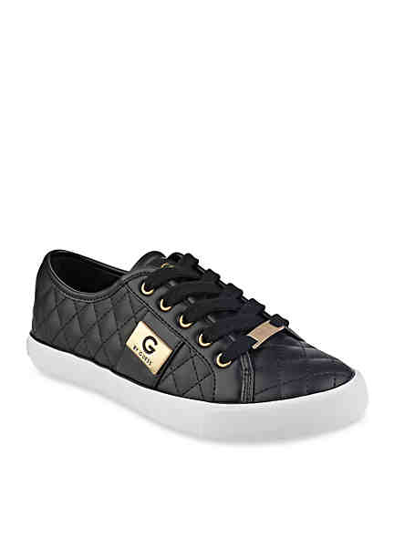 G by GUESS Backer Lace-Up Quilted Sneaker ...