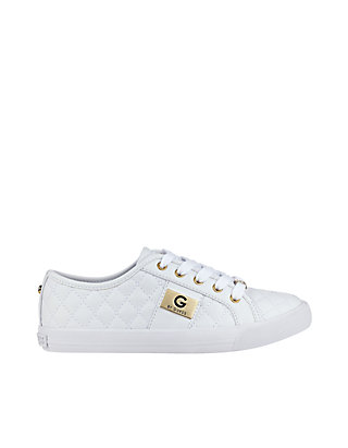 Backer Lace Up Quilted Sneaker
