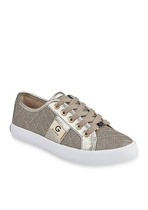 G by GUESS Backer Lace-Up Quilted Sneakers