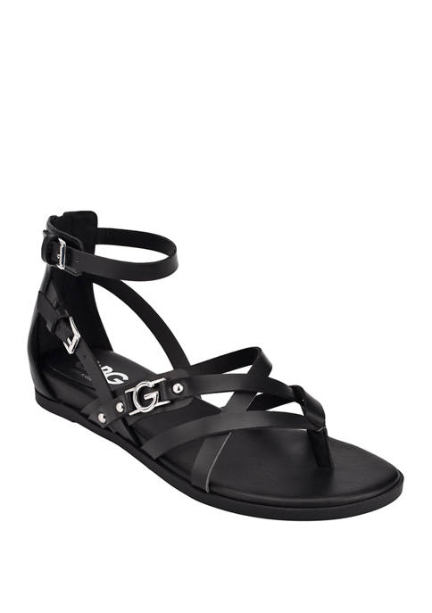 GBG Los Angeles Carmin Sandals