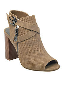 Up The Front Side Zip Sandal