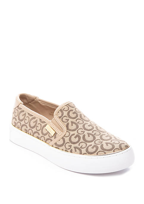 G by GUESS Logo Quilted Slip On Sneakers