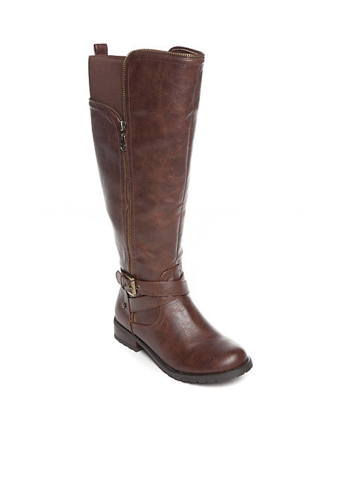 G by GUESS Halsey Riding Boot Wide Calf