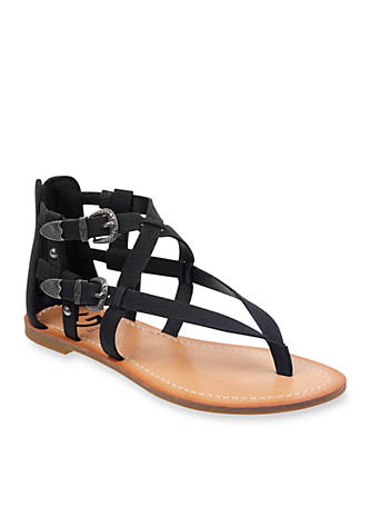 G by GUESS Harling Gladiator Sandal Back Zip